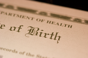 Birth certificates are a common starting point in adoption cases.